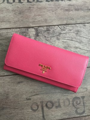 Prada Wallet gold-colored-pink