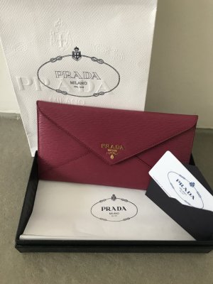 Prada Wallet raspberry-red