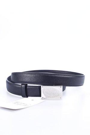 Prada Gürtel schwarz schlichter Stil
