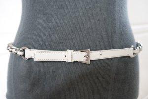 Prada Chain Belt white-silver-colored