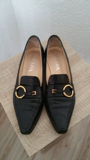 Prada Slippers black leather