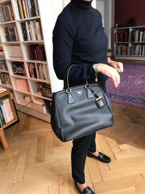 Prada Frame Bag black leather