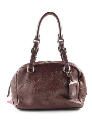 Prada Handbag brown business style