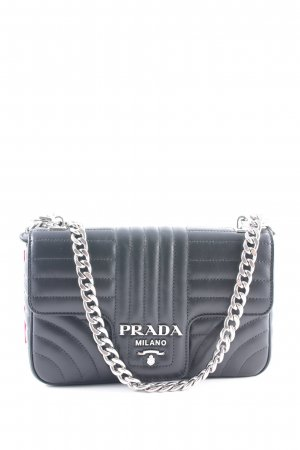"Prada Handbag ""Diagramme Crossbody Bag Black"" black"