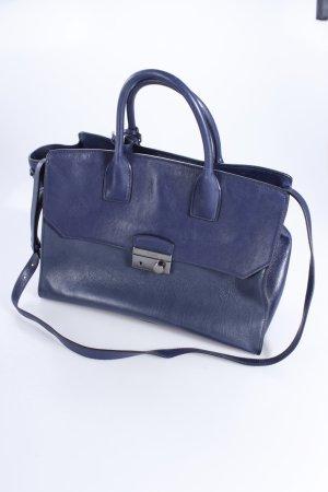 Prada Handtasche Glace Calf Denim Baltico dunkelblau