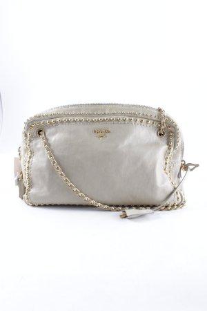 Prada Handtasche graubraun klassischer Stil
