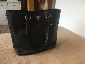 PRADA Handtasche Leder Schwarz - Vitello Daino