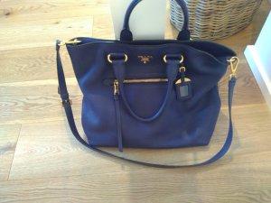 Prada Handtasche marineblau