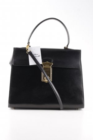 Prada Handbag black-gold-colored business style