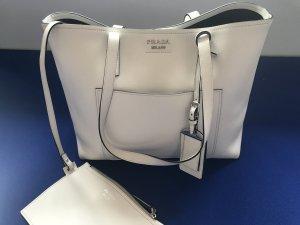 Prada Handtasche Shopper off white Leder