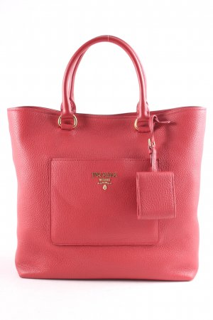 "Prada Handtasche "" Shopping Bag Vitello Daino Rosso """