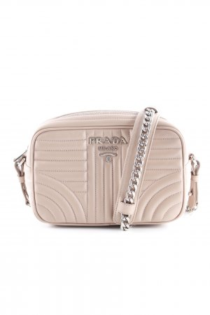 "Prada Sac à main ""Soft Calf Impunture Crossbody Cipria"" vieux rose"