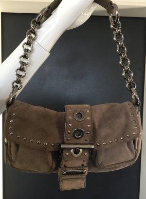 PRADA Handtasche Taupe — Luxus