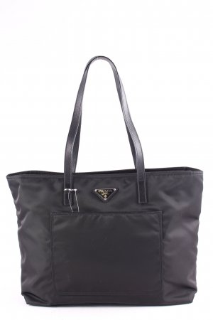 "Prada Borsetta ""Vela Shopping Bag Nero"" nero"