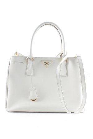 Prada Handtasche wollweiß Business-Look