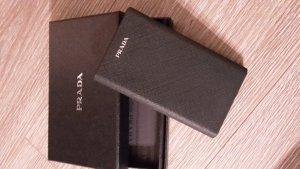 Prada Hoesje voor mobiele telefoons zwart-zilver