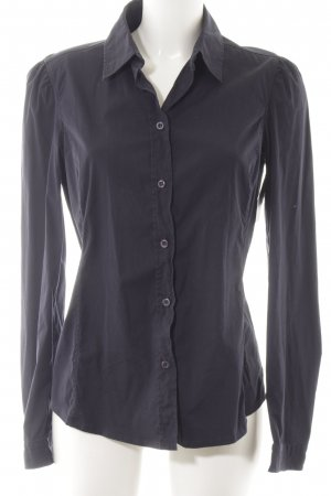 Prada Hemd-Bluse dunkelblau Business-Look