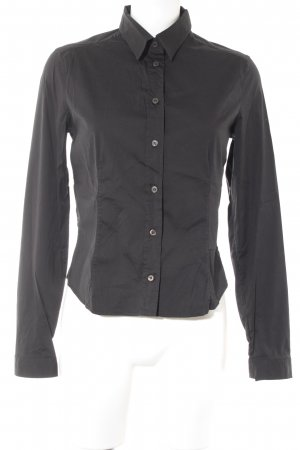 Prada Hemd-Bluse schwarz Business-Look