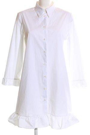 Prada Shirtwaist dress white business style