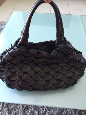 Prada Carry Bag dark brown