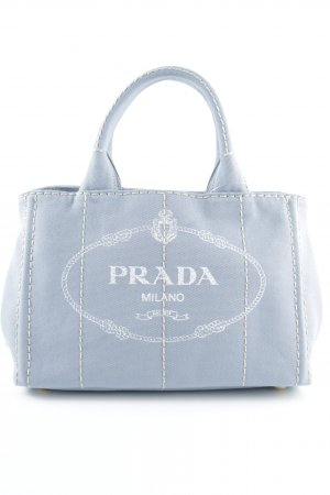 "Prada Sac Baril ""Canapa Canvas Shopping Bag Astrale"""
