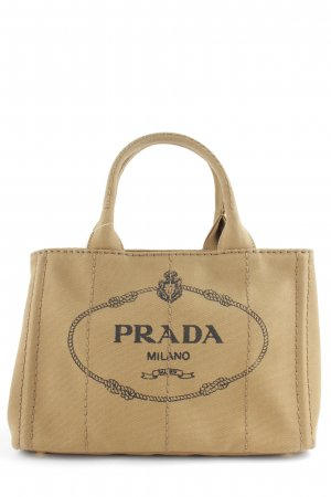 "Prada Sac Baril ""Canapa Shopping Bag Tabacco"""