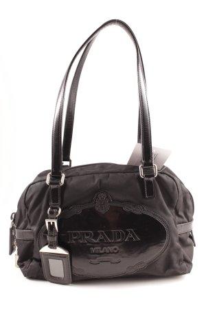 Prada Sac Baril noir style décontracté