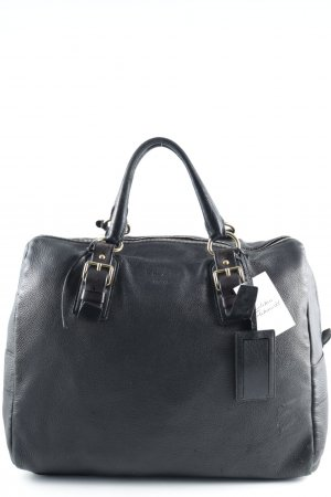 Prada Carry Bag black brown-dark brown casual look