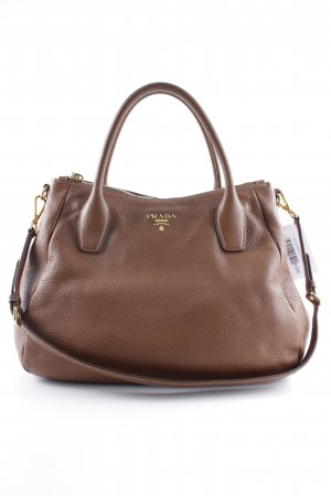 "Prada Carry Bag ""VIT.DAINO"" brown"