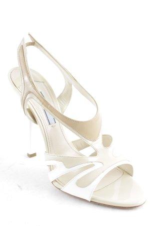 Prada High Heel Sandaletten mehrfarbig klassischer Stil