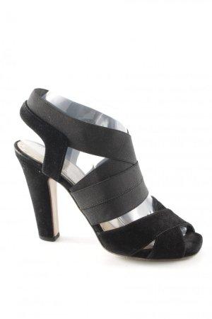 Prada High Heel Sandaletten schwarz Elegant