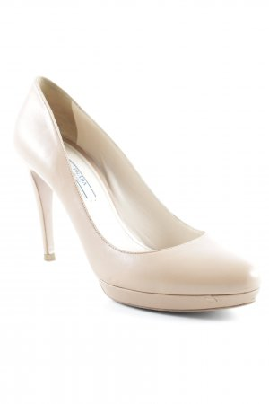 Prada High Heels beige Business-Look
