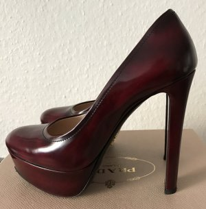 Prada High Heels Bordeaux