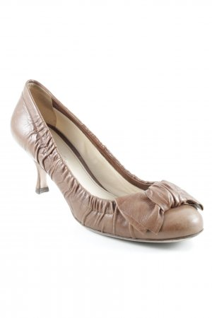 Prada High Heels cognac Casual-Look