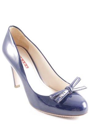 Prada Hoge hakken donkerblauw elegant
