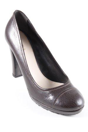 Prada High Heels dunkelbraun Elegant