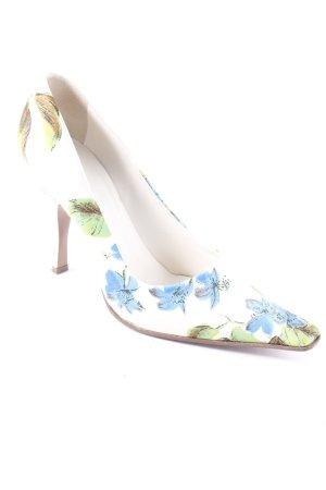 Prada High Heels florales Muster extravaganter Stil