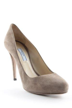 Prada High Heels hellbraun Elegant