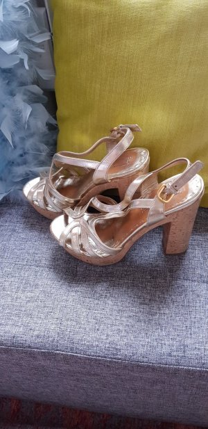 Prada high heels in gold, gr 38