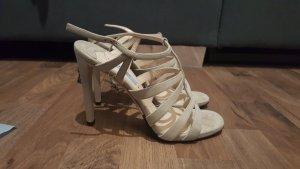 Prada High Heels in Gr. 37,5, sandfarbend