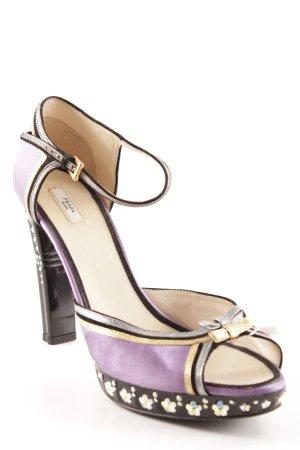Prada High Heels mehrfarbig extravaganter Stil