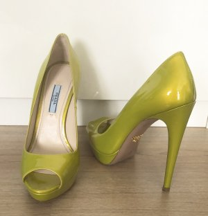 Prada High Heels neu 37 lime