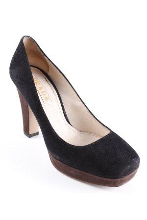 Prada High Heels schwarz klassischer Stil