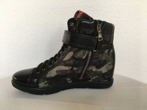 Prada, High Top Sneaker, Camouflage, Nylon/Leder, 40, neu, € 690,-