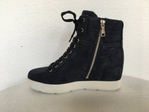 Prada, High Top Sneaker, Suede, 40, blau, neu, € 600,-