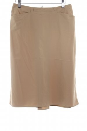 Prada High Waist Rock camel Business-Look