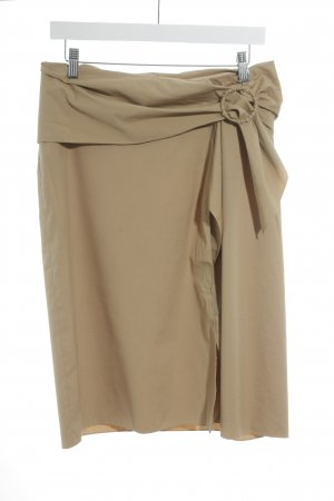 Prada High Waist Skirt sand brown elegant