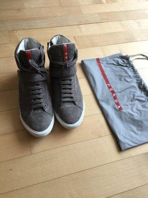 Prada Hochschaft-Sneakers