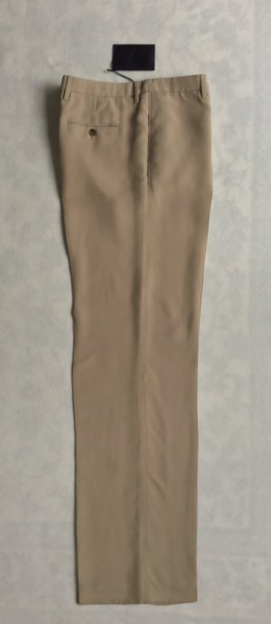Prada, Hose, tan/beige, Viskose, 42 (It. 46), neu, € 650,-