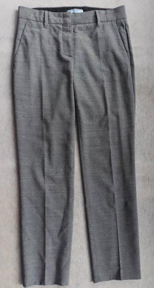 Prada Pantalon en laine gris laine